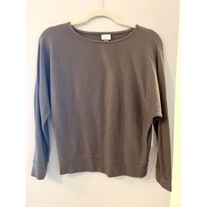 A NEW DAY ribbed long sleeve shirt